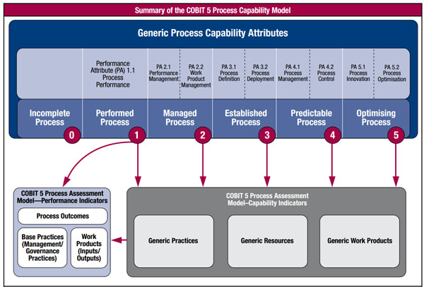 Summary of the COBIT 5 Process Capability Model